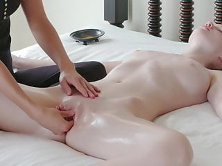 Sensual Orgasm Massage for this perfect Teen